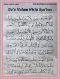 Do'a Malam Nisfu Sya'ban 01