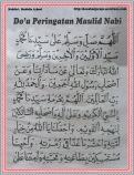 Do'a Peringatan Maulid 01