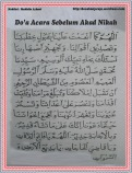 Do'a sebelum akad nikah