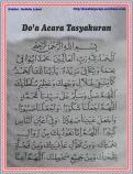 Doa Acara Tasyakuran 01